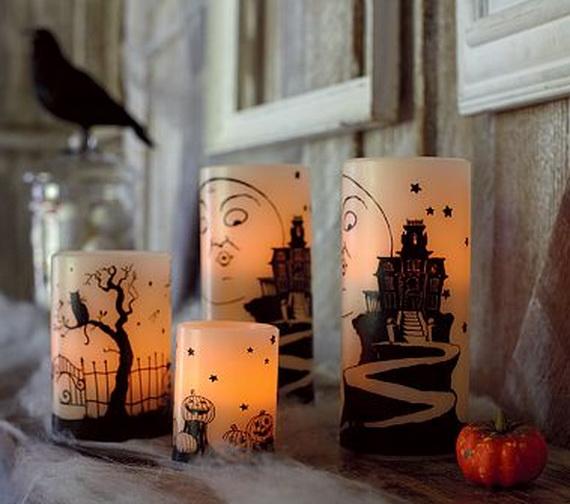 Candles Decoration: Halloween Superstitions & Beliefs